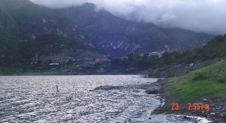 Laguna de Sanchez en Nuevo Leon Llena
